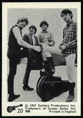 The Monkees Black and White (54 different cards from the set of 55 minus No. 16) 1967