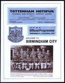 Tottenham Hotspur FA Cup Winners 1967 Programme Covers 2008