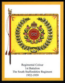 Infantry Regimental Colours The South Staffordshire Regiment 2nd Series 2008