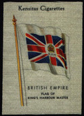 British Empire Flags (without printed in USA and printed on silk) 1933