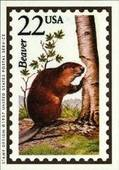 Wildlife America (featured on stamps) 1991