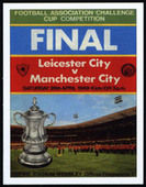 Manchester City F. C. F.A. Cup Winners 1969 Programme Covers 2007