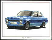Escort (Twin-Cam, RS and Mexico) 1969-80 (1999)
