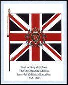 Infantry Regimental Colours The Oxfordshire and Buckinghamshire Light Infantry 1st Series 2007