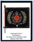 Infantry Regimental Colours The Kings Own Yorkshire Light Infantry 2009