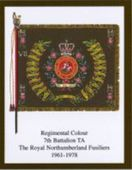 Infantry Regimental Colours The Royal Northumberland Fusiliers 2005