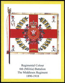 Infantry Regimental Colours The Middlesex Regiment (Duke of Cambridge Own) 2007