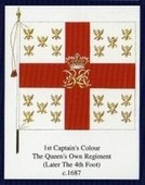 Infantry Regimental Colours The Kings Own Royal Regiment (Lancaster) 1st Series 2005