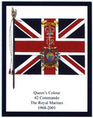 Infantry Regimental Colours The Royal Marines 1st Series 2008