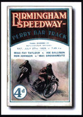 Speedway Programme Covers 2nd Series The Early Years (2003)