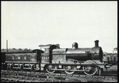 Vintage Steam (LMS) Set 8 (postcards) 1978