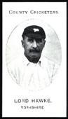County Cricketers Yorkshire 1907 reprint 1987
