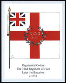 Infantry Regimental Colours The Duke of Cornwalls Light Infantry 2007