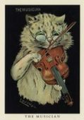 Cats in Black by Louis Wain Series LW6 2005