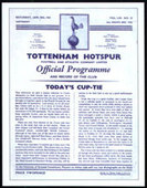 Tottenham Hotspur FA Cup Winners 1961 Programme Covers 2008