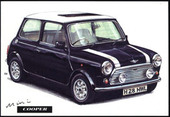 Mini Cooper (numbered 001-004) 1994