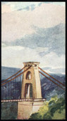 Sectional Series Clifton Suspension Bridge 1938