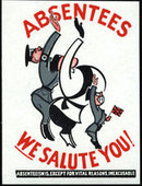 Industrial Propaganda Cards white front 1942