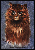 Persians 2nd Series Cats by Louis Wain Series LW11 2009
