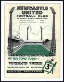 Wolverhampton Wanderers F A Cup 1960 Programme Covers 2007
