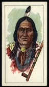 American Indian Tribes (White card) 1962