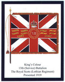 Infantry Regimental Colours The Royal Scots 2nd Series 2007