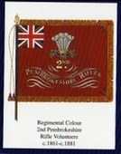 Infantry Regimental Colours The Welch Regiment 2005