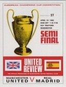 Manchester United 1968 European Cup Winners Programme Covers 2004