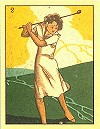 Golf Girls Series c1920 reprint 1997