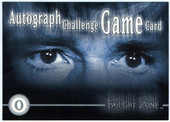 8 Different Twilight Zone 2nd Series Challenge Game Cards (S not included) 2000