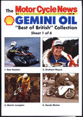 Best of British Motor Cycling (including poster) 1988