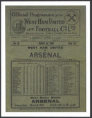 Arsenal FC F.A. Cup Winners 1930 Programme Covers 2006