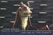Star Wars Attack of The Clones (Star War on the Front in Silver print) 2002