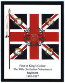 Infantry Regimental Colours The Cameronians (Scottish Rifles) 2009