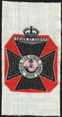 Regimental Badges (woven silk issue) (50 different silks from the set of 85) c1915