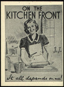 On The Kitchen Front (Industrial Propaganda Cards) 1942