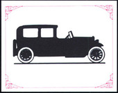 Silhouettes of Veteran and Vintage Cars 1991