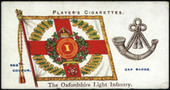 Regimental Colours and Cap Badges 1907