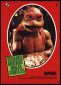 Teenage Mutant Ninja Turtles Movie stickers 1990