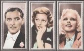 Stars of the Screen (In strips of three) 1936
