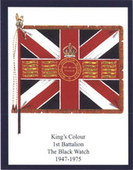 Infantry Regimental Colours The Black Watch (Royal Highland Regiment) 1ST series 2006