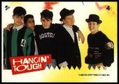 New Kids on the Block Stickers Red Borders 1990