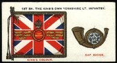 Regimental Standards and Cap Badges 1930