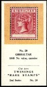 Rare Stamps 2nd Series (red overprint) 1960