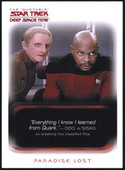 Star Trek Deep Space Nine Quotable Series 2007