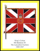 Infantry Regimental Colours The Lancashire Fusiliers 1st Series (Correct printing) 2006