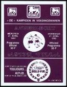 Aston Villa FC European Cup Winners 1982 Programme Covers 2006