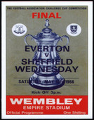 Everton F.C. F.A.Cup Winners 1966 Programme Covers 2007