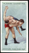 Wrestling and Ju Jitsu (Blue back) 1911