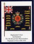Infantry Regimental Colours The Royal Warwickshire Fusiliers 2005